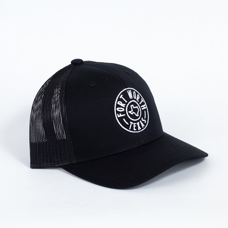 Fort Worth Round Badge - Trucker Hat