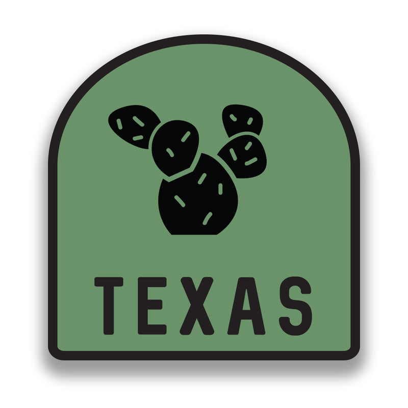 Texas Pear Cactus - Sticker