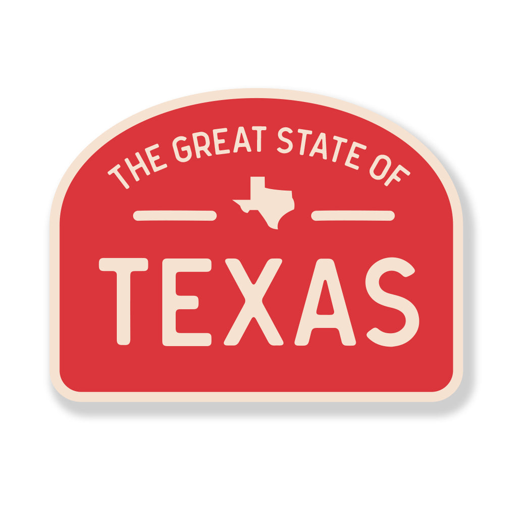 The Great State of Texas - Sticker
