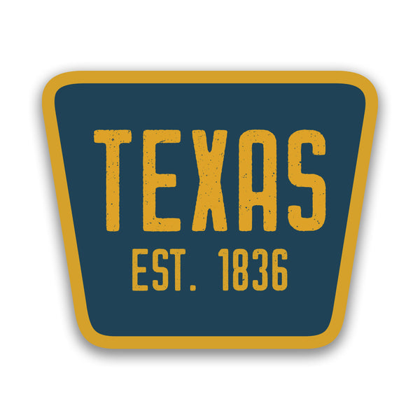 Texas 1836 - Sticker