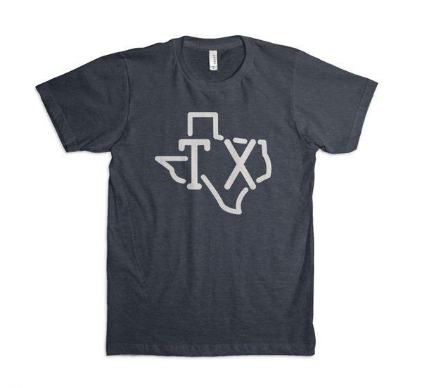 TX Outline - T-Shirt