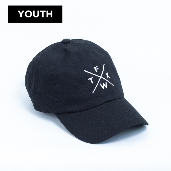 FW X TX - Youth Ball Cap - Black