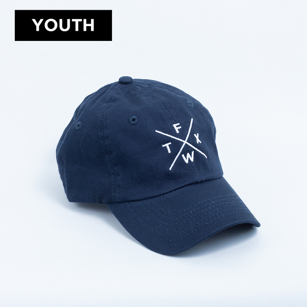 FW X TX - Youth Ball Cap - Navy