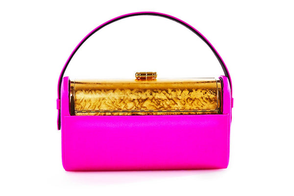 Régine Minaudière in Fuchsia Satin