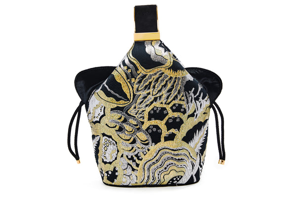 Kit Bracelet Bag in Art Disco Metallic Lurex Jacquard