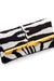 PM Clutch in Zebra Printed Calf Hair