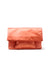 Aperitivo Clutch in Coral Satin