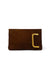 Aperitivo Clutch in Brown Suede