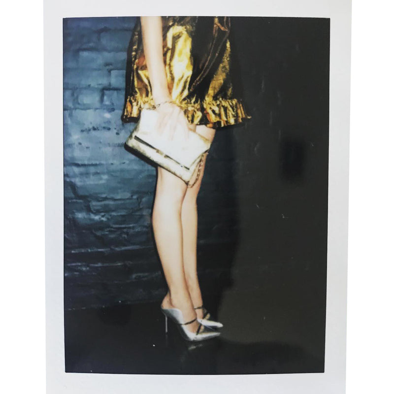 PM Clutch in Gold Velvet