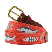 Bonefish Needlepoint Belt