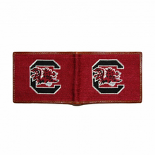 South Carolina Needlepoint Bi-Fold Wallet
