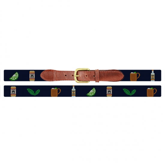Make a Moscow Mule Needlepoint Belt