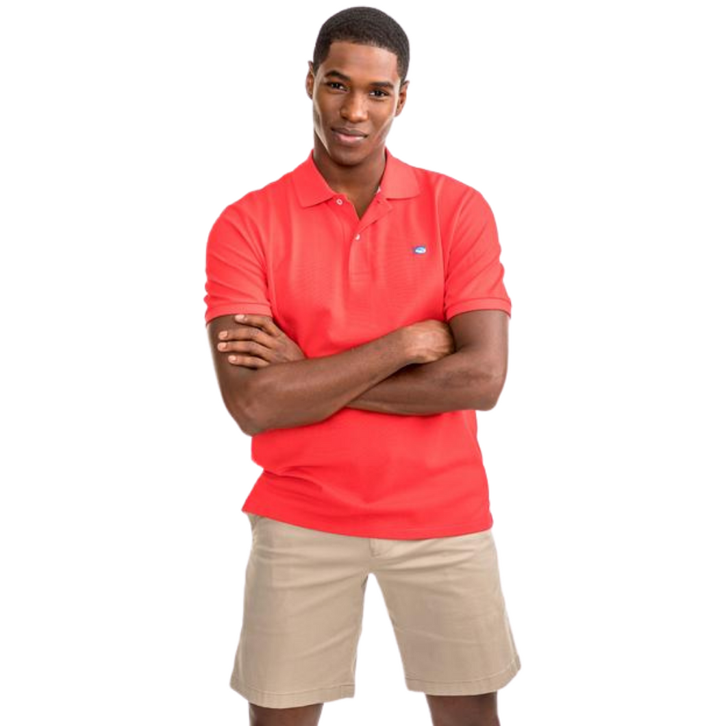 Skipjack Polo - Channel Marker Red
