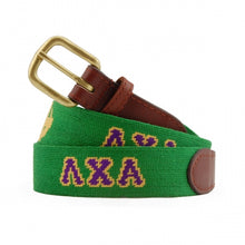 Lamba Chi Alpha Needlepoint Belt
