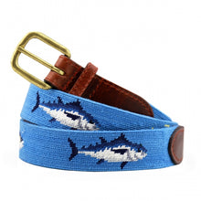 Tuna (Cornflower) Needlepoint Belt
