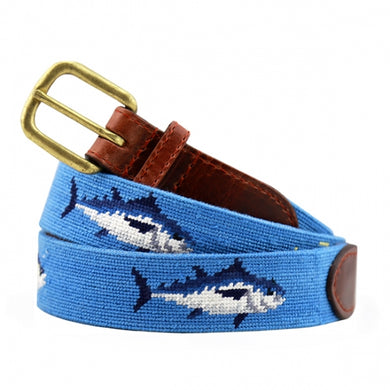 Tuna Needlepoint Belt