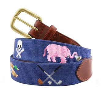 Smathers Life Needlepoint Belt