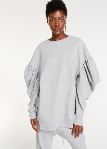 Armor Sweatshirt / Heather Grey