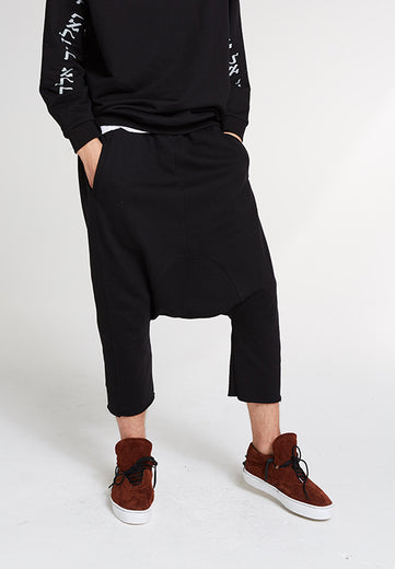 Drop It Pants / Black Sweats