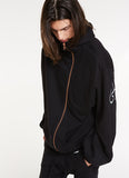 My Love, My Eyes Ninja Hoodie / Black