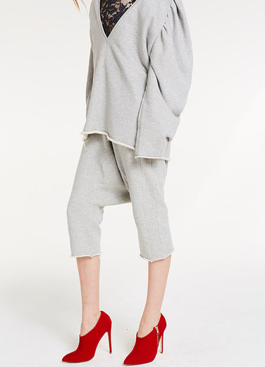 Drop It Pants / Heather Grey Sweats