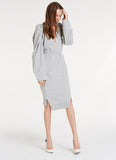 In Charge Dress / Heather Grey