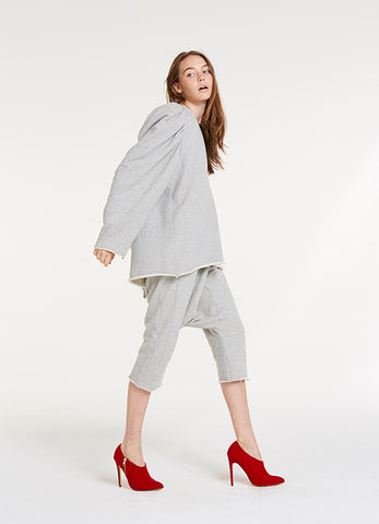 In Charge Sweatshirt / Japanese Heather Grey Terry
