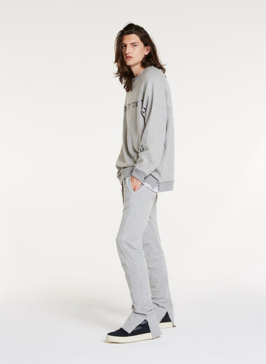 One Love Sweatshirt / Japanese Heather Grey Terry