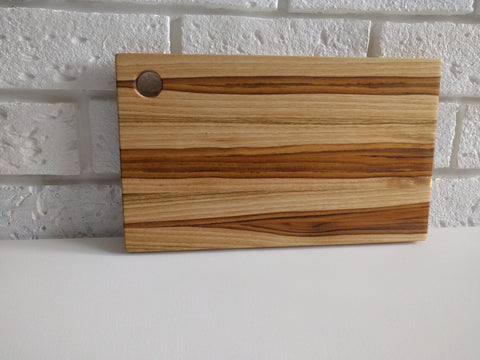 Teakwood Serving Tray - small handle