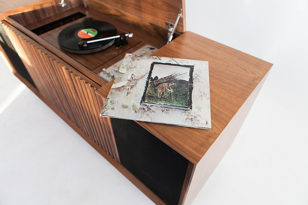 Wrensilva turntable console Led Zeppelin