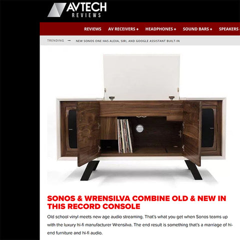 AVTech Reviews: Sonos and Wrensilva Combine in This Record Console