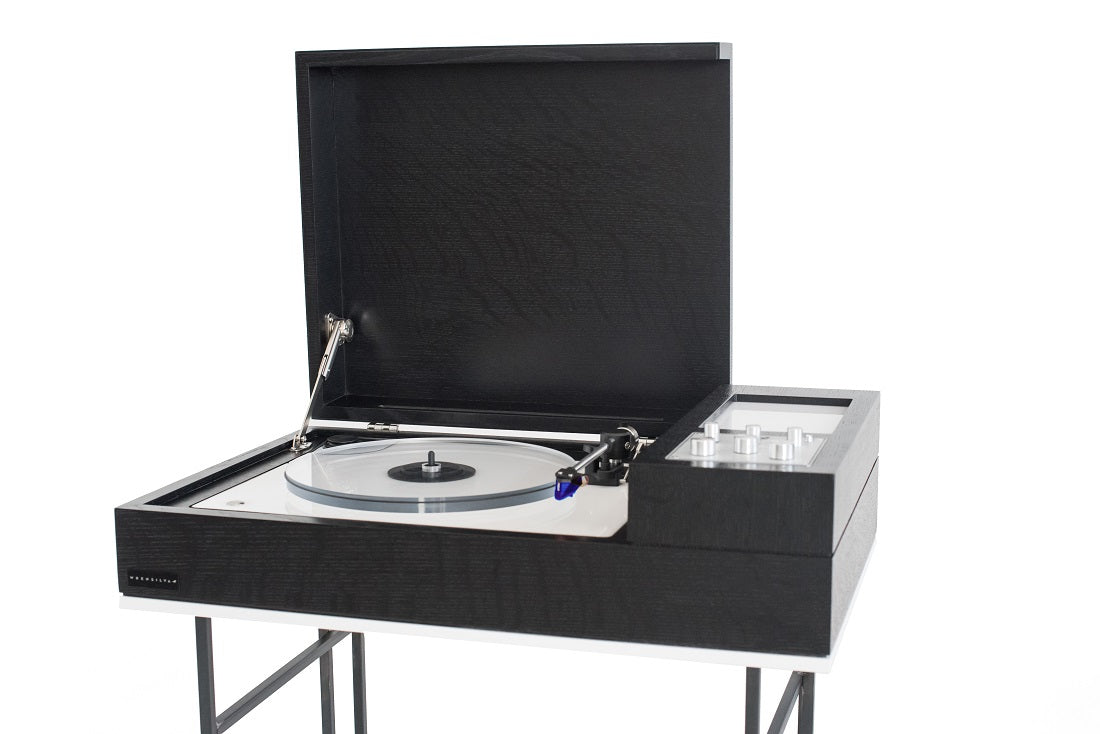 Wrensilva Black Tiger Record Stereo Console