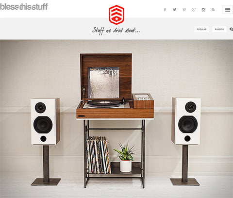 BlessThisStuff: Stuff we drool about- Wrensilva Loft Stereo Console