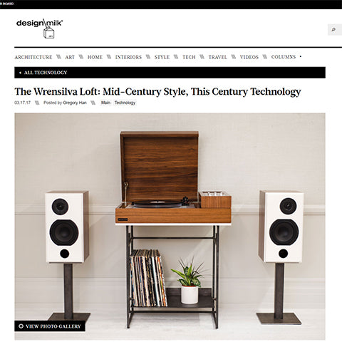 Design Milk: The Wrensilva Loft- Mid-Century Style, This Century Tech