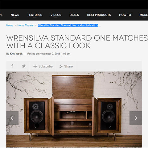 Digital Trends Wrensilva modern tech with classic vinyl record console