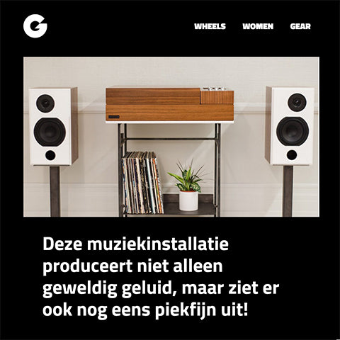Gewoonvoorhem: Wrensilva music system not only produces great sound...
