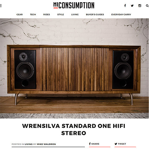 HiConsumption The Wrensilva Standard One HiFi Stereo