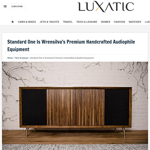 Luxatic: Standard One Is Wrensilva's Premium Handcrafted Audiophile Eq