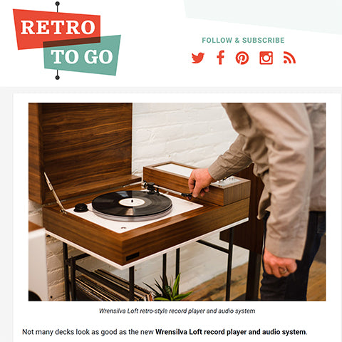 RetroToGo The Loft packs 300 wpc Wrensilva amp a turntable and Sonos