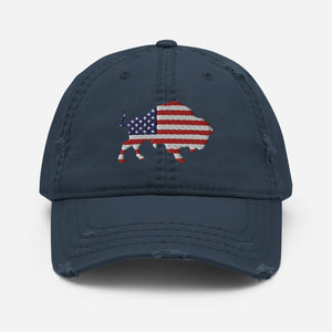Distressed Hat - American Buffalo