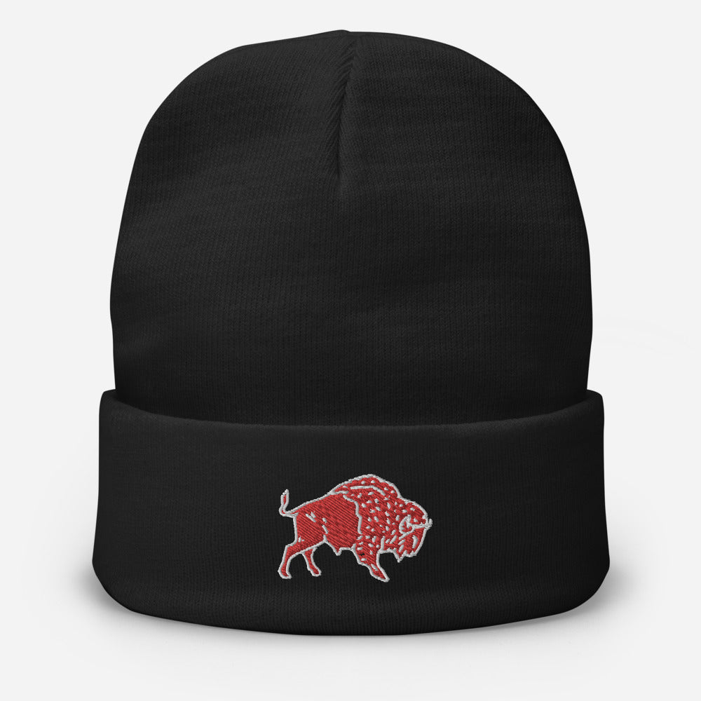 Embroidered Beanie - Wild Leap Craft Beer Buffalo