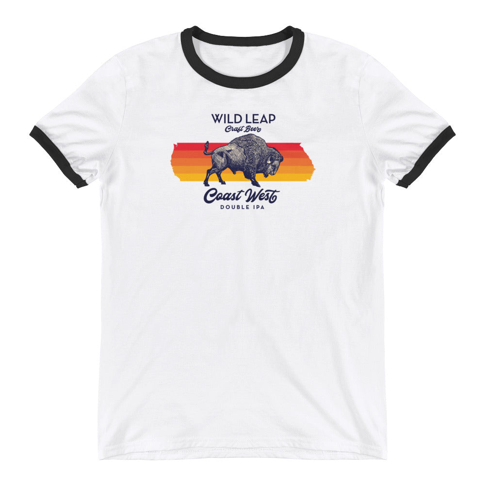 Coast West Ringer T-Shirt