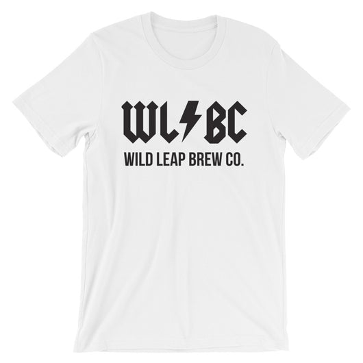 WL/BC Black Logo T-Shirt - Wild Leap Brew Co.