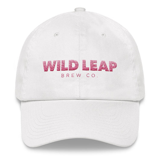 Blurred Lines Women's hat (red text) - Wild Leap Brew Co.