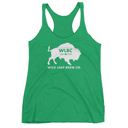 WLBC Buffalo Women's Racerback Tank - Wild Leap Brew Co.