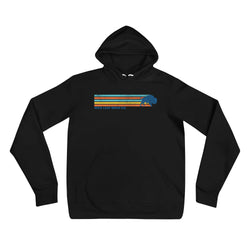 Retro Stripe Unisex Hoodie - Wild Leap Brew Co.