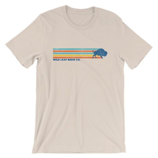 Retro Stripe T-Shirt - Wild Leap Brew Co.