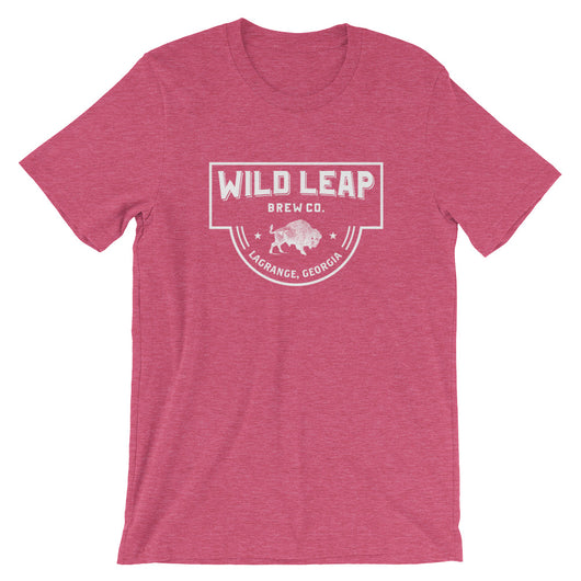 Wild Leap Crest T-Shirt - Wild Leap Brew Co.