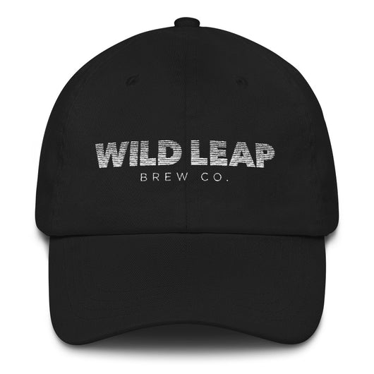 Blurred Lines Dad hat (white text) - Wild Leap Brew Co.