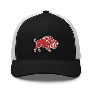 Trucker Hat - Wild Leap Buffalo